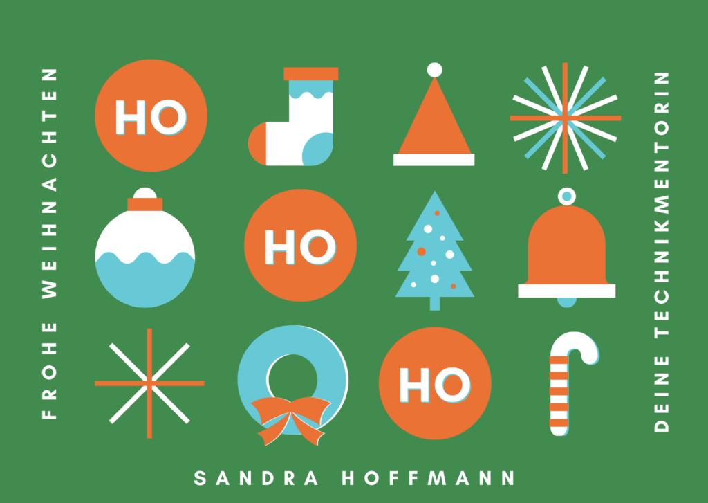 Canva Weihnachtskarte